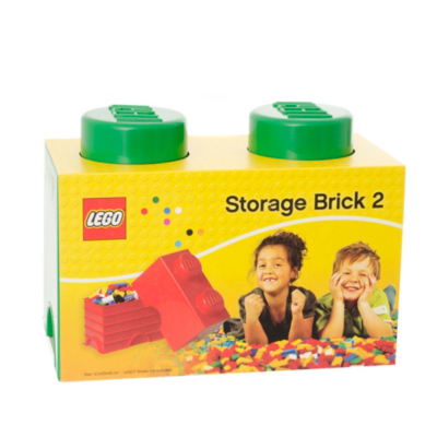 2.7 Litre Medium Storage Brick - Green - CLICK FOR MORE INFORMATION