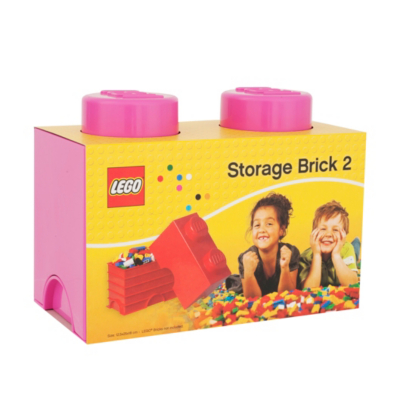 2.7 Litre Medium Storage Brick - Pink - CLICK FOR MORE INFORMATION