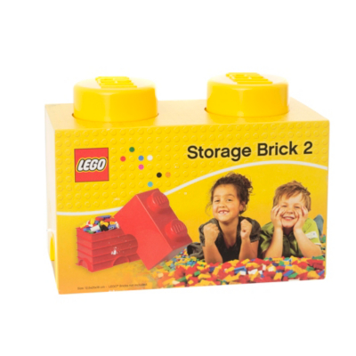 2.7 Litre Medium Storage Brick - Yellow - CLICK FOR MORE INFORMATION