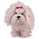 Fluffy - Walking Toy Dog