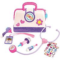 Doc Mcstuffins Toy Hospital Bag Set Kids George At Asda