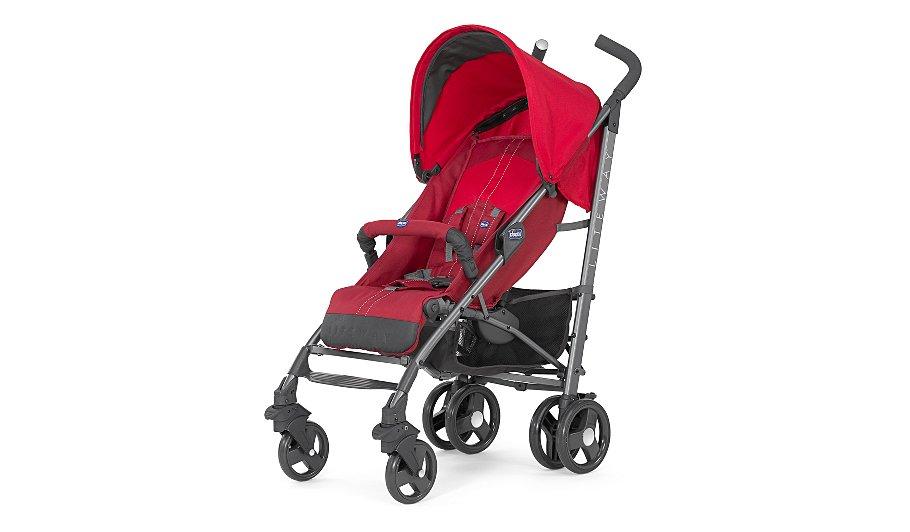 chicco liteway stroller red baby george at asda. Black Bedroom Furniture Sets. Home Design Ideas