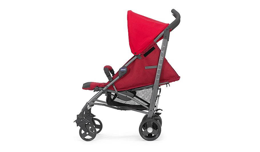 Chicco Liteway Stroller Red Baby George At Asda