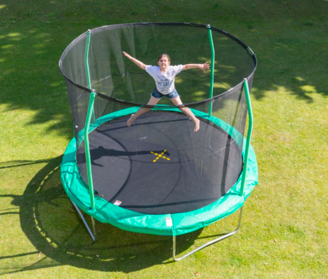 JumpKing 10ft Trampoline with Enclosure
