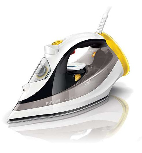 how to clean philips iron plate