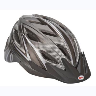 Bell Adult Adrenaline Helmet Black/Silver, Blk/Silver