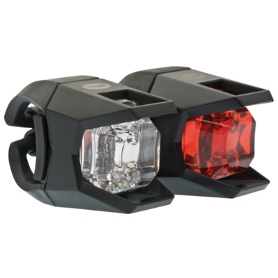 Wo LED Head and Tail Light, Black 1006317
