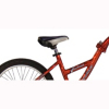 WeeRide aluminium Tag along Trailer Bike - Red alternative view
