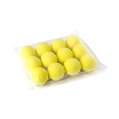 Foam Practice Golf Balls, Yellow