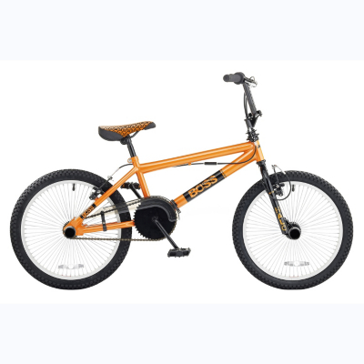 Boys BOSS 20in Wheel Halo BMX Bike, Orange 0510W20