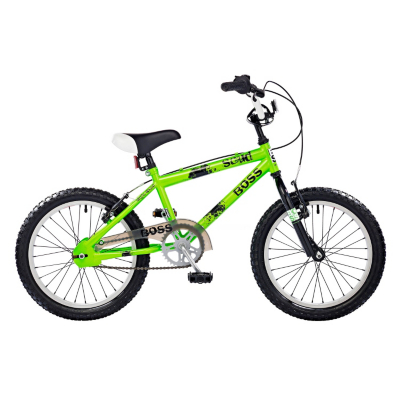 Scud Boys BMX - 18ins Wheel, Green 0541W18