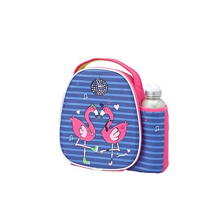 flamingo bag and bottle kids dining asda direct. Black Bedroom Furniture Sets. Home Design Ideas