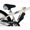 WeeRide Steel Tag along Trailer Bike - White alternative view