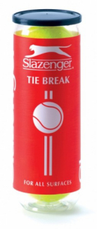 Slazenger  Tie Break Tennis Balls - 3 Pack - 342015