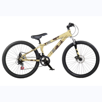 Oxide Jump Mens 26ins Wheels Bike, Gold