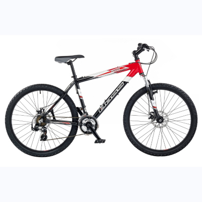 Panic Mens 26ins Wheels Mountain Bike, Red