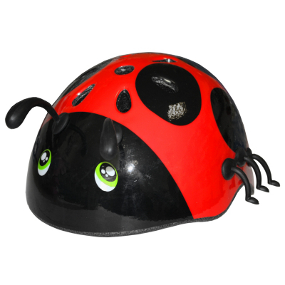 Kids Ladybug Cycle Helmet, Pink or Red