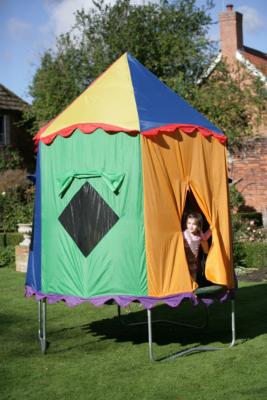 JumpKing 10ft Telstar Trampoline and Circus Tent -