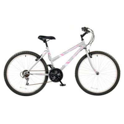 Gemini Womens Mountain Bike, Silver