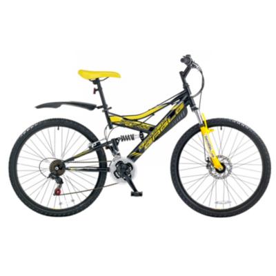 Brit Eagle Paranoid Mens Mountain Bike, Black