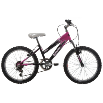 Kraze Girls Mountain Bike - 20 inch Wheels, 11