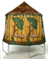 JumpKing Tree House Trampoline Cover - 10ft alternative view
