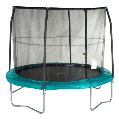 JumpKing 10ft Trampoline with Enclosure, Green