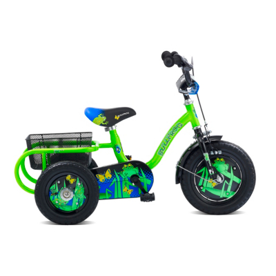 Bull Frog Boys Trike - 12 inch Wheels,
