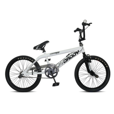 Big Daddy BMX Bike - White, 20 inch