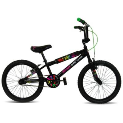 BMX Bike - 20 inch Wheels, Black