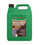 Your Garden Sprayable Timbercare Dark Brown- 5L