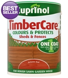 Cuprinol Timbercare Autumn Red - 5L