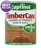 Cuprinol Timbercare Rustic Brown - 5L