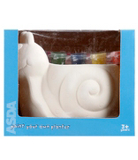 ASDA Paint Your Own Snail Pot Garden Ornament