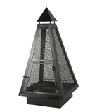 ASDA 100cm Pyramid Log Burner