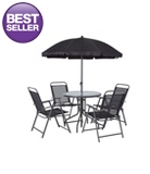 Cuba Patio Set 6 Piece