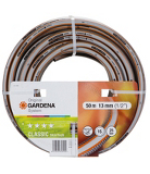 Gardena Classic Skintech anti-kink Hose and Fittings - 50m