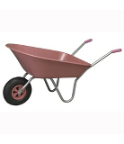 Parasene Pink Boxer Wheelbarrow