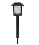 Large Black Plastic Solar Light - 2 Pack
