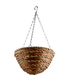 ASDA 12inch Rope Hanging Basket