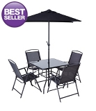 Miami Patio Set - 6 Piece