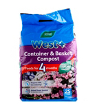 West+ Container and Basket Compost- 25L