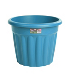 Round Plastic Planter - Blueberry - 50 cm