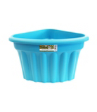 Corner Plastic Planter - Blueberry - 40 cm