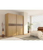 Bonn Wardrobe with Plain Doors - 1.5m