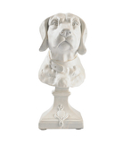 George Home  White Dog Bust