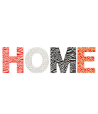 George Home Tropical Print Home Letters