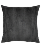 George Home Charcoal Jumbo Cord Cushion - 50x50cm