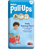 Huggies Pull-Ups Disney-Pixar Cars Boy Size 6 16-23kg 12 Potty Training Pants