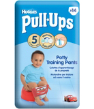 Huggies Pull-Ups Disney-Pixar Cars Boy Size 5 11-18kg 14 Potty Training Pants
